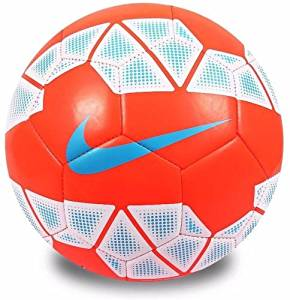 Nike Soccer Ball Size 5 PITCH PL 14-15 Premier League EPL Football Match  Orange f368c2aeef
