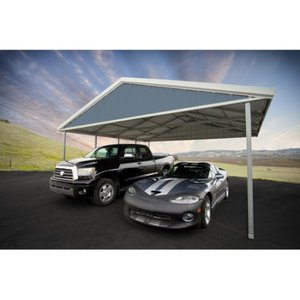 Premium canopy 20 Ft. W x 24 Ft. D stainless steel canopy bracket car tent garage