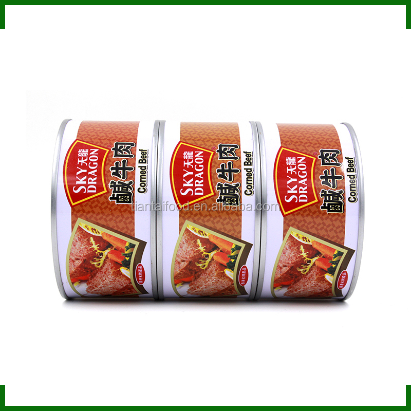 ready to serve food canned tinned food stuff 340g corned beef canned in brazil