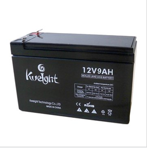 12V 9AH rechargeable battery smf maintenance free AGM vrla sla deep cycle ups battery 12v 9ah for emergency lighting