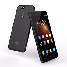 Gretel S55 Dual Rear Camera Mobile Phone 5.5 inch HD MT6580A Quad Core Android 7.0 1GB+16GB 8MP Cam Fingerprint 3G Cellphone