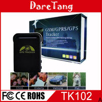 personal/pet mini real time tracker tk102B 3g gps tracker