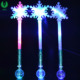 Popular Gift Custom Light Up Glow Snowflake Christmas Lights LED Stick