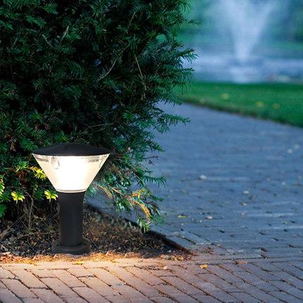 Simple outdoor lawn lamp garden garden villa garden column lamp
