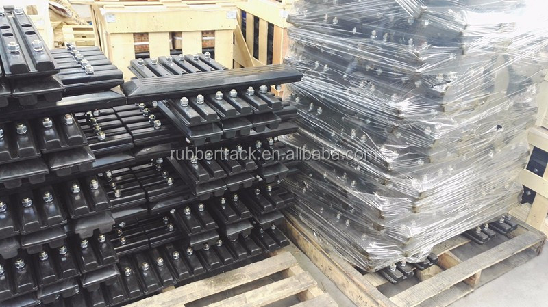 Excavator Rubber Track Pad/Shoe 230-800mm