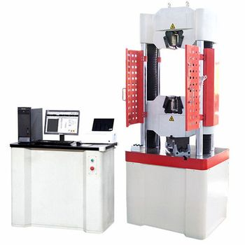 WEW series dynamic and static electro-hydraulic servo casting tensile testing machine