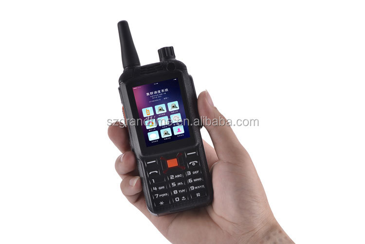 F22+ 3G GSM Smart POC Radio With Hand-held Micro Speaker Port and Instand Camera