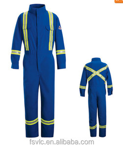 Fire Retardant Nomex IIIA Coverall With Reflective Trim