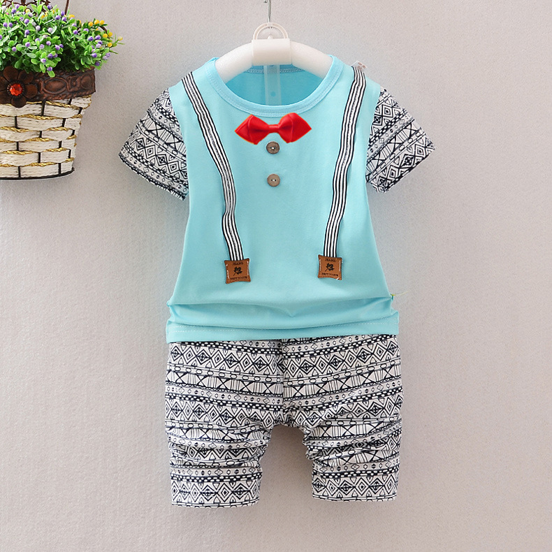 e25983334 Latest Summer Nice Knits Colorful Baby Boy Set 2017 Baby Romper Suit ...