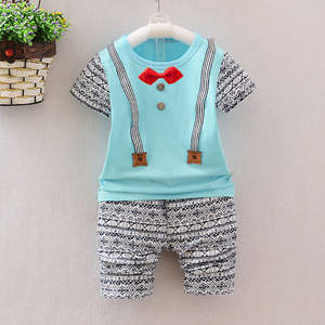 latest summer nice knits colorful baby boy set 2017 baby romper suit