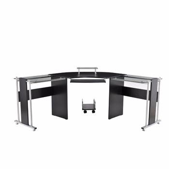 Buro Mobel 2 Person Glas Schreibtisch Modern Burotisch Design Buy