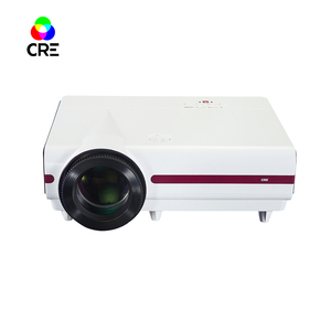 Hot 1280x800 LED Projector with Android IOS or Laptop PC Video Gaming Projector for Daily Games and Party Mini Projector