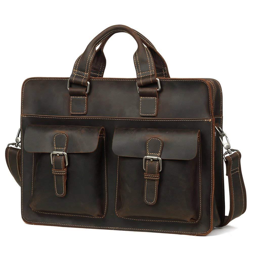 Kucspp Leather Messenger Handmade Bag Laptop Bag Satchel Bag Messenger Bag School Bag