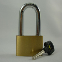Guard Safety Padlock Made Of Brass With Hardened Steel Shackle ...