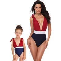 Mother And Daughter Mermaid's One Piece Swimsuit Parents And Kids Family Matching Clothing Sets