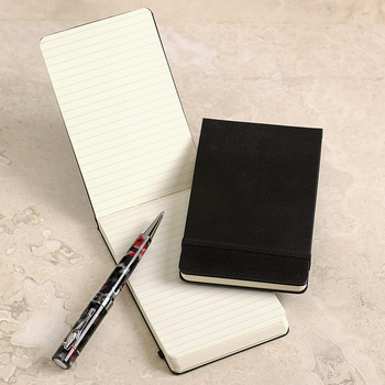 Pu Leather A6 A7 Notebook Size Very Small Pocket