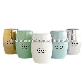 5 Different Colors Ceramic Garden Seat