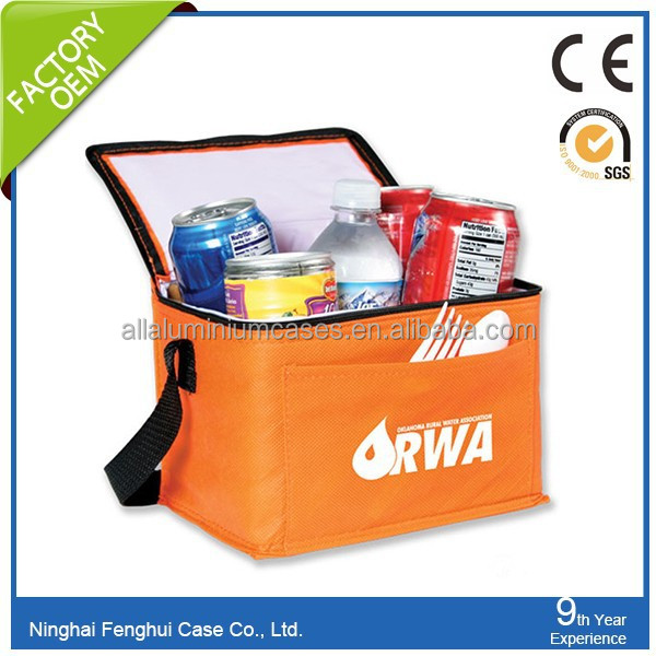 OEM promotional heavy bulk insulated non woven cooler bag wholesale cooler bag