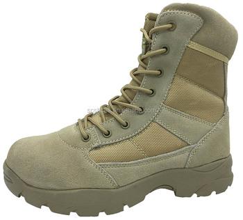 Musim gugur musim dingin sepatu keselamatan pasukan khusus militer sepatu  bot militer sepatu gurun 88406166d8