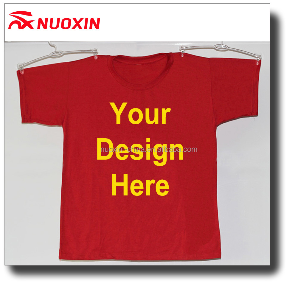 NX TSHIRT Custom wholesale China digital sublimation printing 3d red t shirt