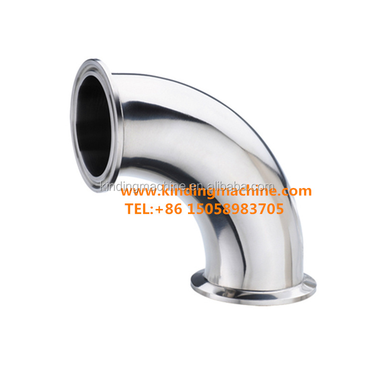Stainless Steel Sanitary 90degree Elbow/Bend with ferrule end