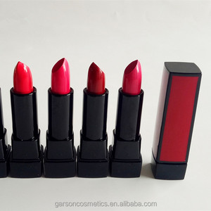 Garson oem private label lipstick manufacturers provide different lipstick make your own factory