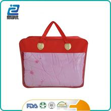 China manufacture polyester ball fiber quilt cover packaging bags