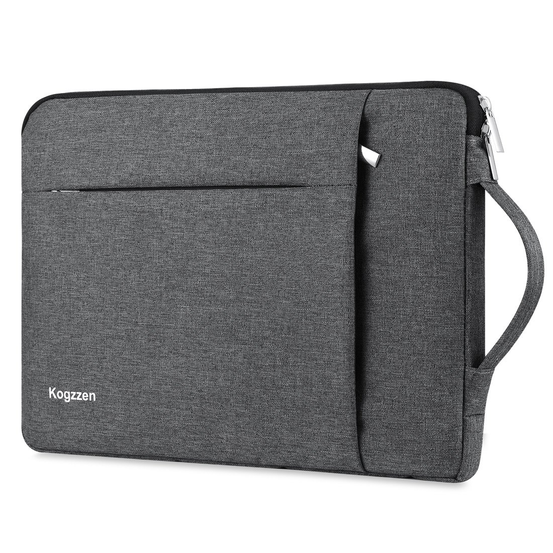 Kogzzen 13-13.5 Inch Laptop Sleeve Shockproof Lightweight Case carrying Bag for MacBook Air 13.3 inch/MacBook Pro 13.3/Surface Book 2 13.5 inch/Surface Laptop 2017/iPad Pro 12.9, Dell HP - Gray