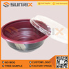 Disposable Leak Proof Plastic Fast Food Sealable Packing Bowl