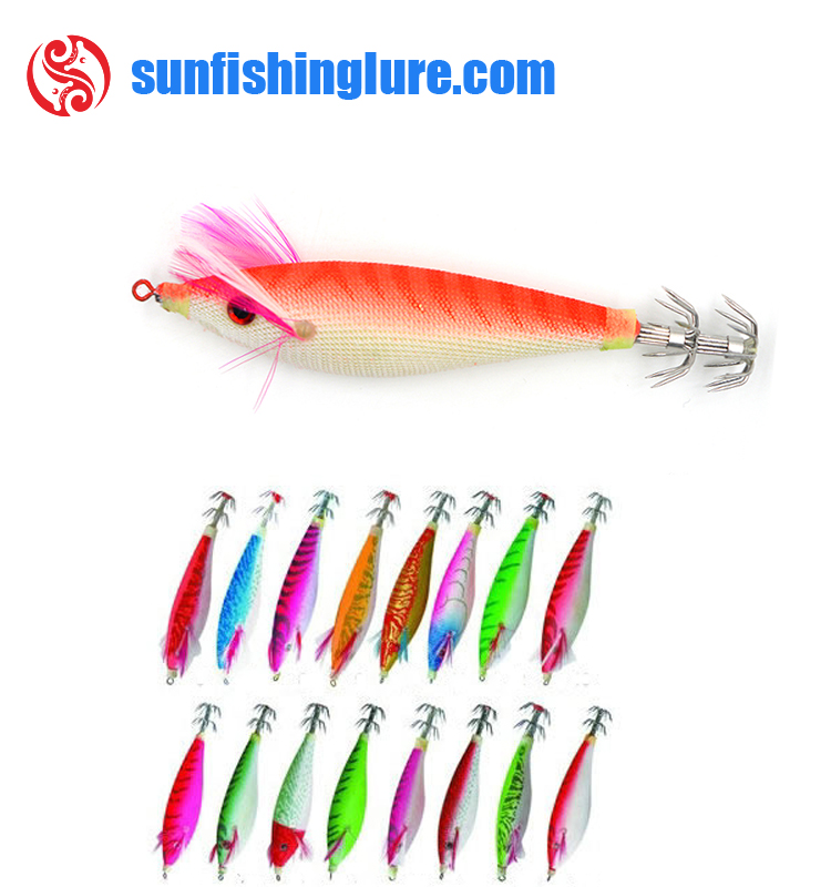 Japanese design EGI fishing lure Squid jig shrimp Big belly yamashita squid jig