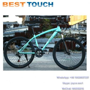 24'' 26'' Size 3 6 Spoke Rim Double Disc Brakes Integrated Wheel MTB Full Suspension Mountain Bike