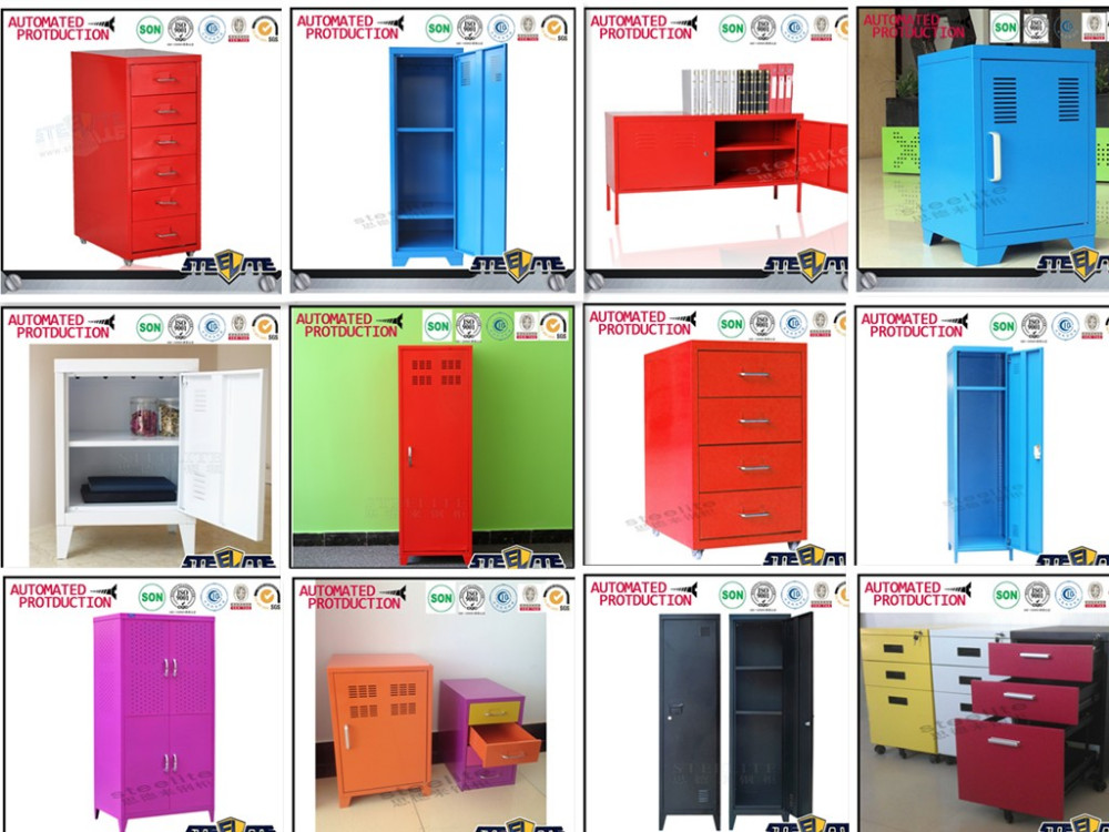 Muebles para el hogar de escritorio bajo 6 de me<em></em>tal cajón del gabinete armario de almacenamiento con ruedas Venta al por mayor, la fabricación, la producción