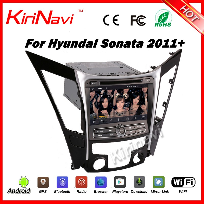 Kirinavi WC-HS8027 android 5.1 car audio player for car gps for hyundai sonata 2011-2016 navigation with gps radio TV bluetooth