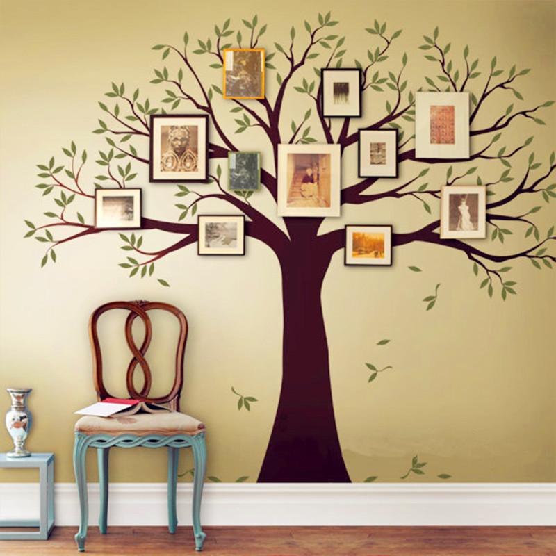 Family Tree Wall Decal Tree Wall Sticker Home Decor Living