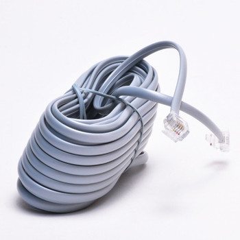 2 wire rj11 telephone cable with connector