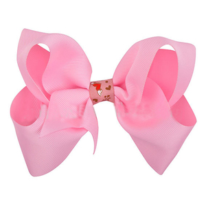 Wholesale baby pink bowknot goody hair accessories