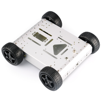 4WD Aluminum Mobile Robot Platform chassis