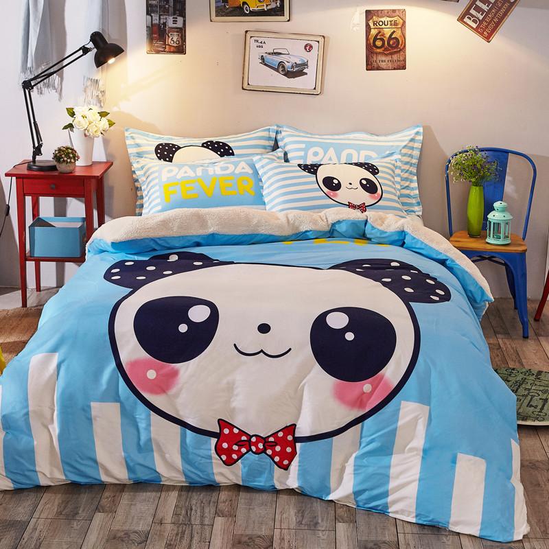 grossiste housse de couette panda acheter les meilleurs. Black Bedroom Furniture Sets. Home Design Ideas