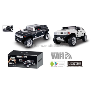 RC 4 Channel SPY car CONTROLLED BY WIFI