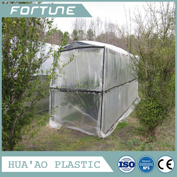 PVC Plastic Floating Row Frost Protection Cover Strong Style Color  Agriculture Greenhouse