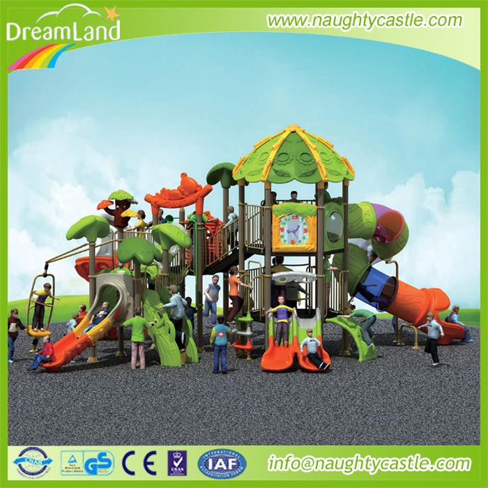 Jungle Theme Outdoor Play ground Fittings for Children