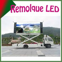 Buy LED mobile advertising solar trailer VMS in China on Alibaba.com