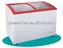 supermarket showcase chest freezer top open OEM factory 2012