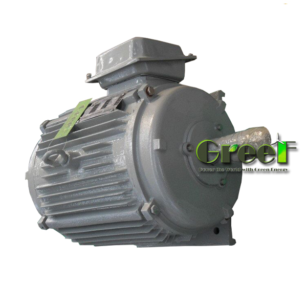 20KW 150rpm Long Lifespan / Manufacturers Custom-made / Low rpm Permanent Magnet Generator For sale