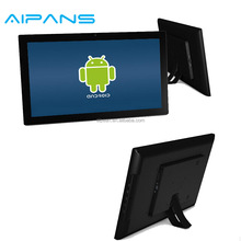 "AD215 22"" Digital Smart All in One Signage Tablet 1920*1080 HD Android Ethernet Tempered Glass Advertising Google Player"