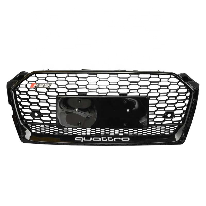 Automotive kunststoff honeycomb grille 2017-2019 A5 S5 kühlergrill für audi rs5 honeycomb grill