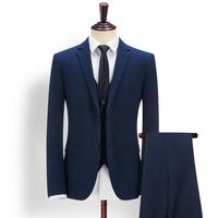 Juqian custom quality blue cheap Mens Business Suits online 2016
