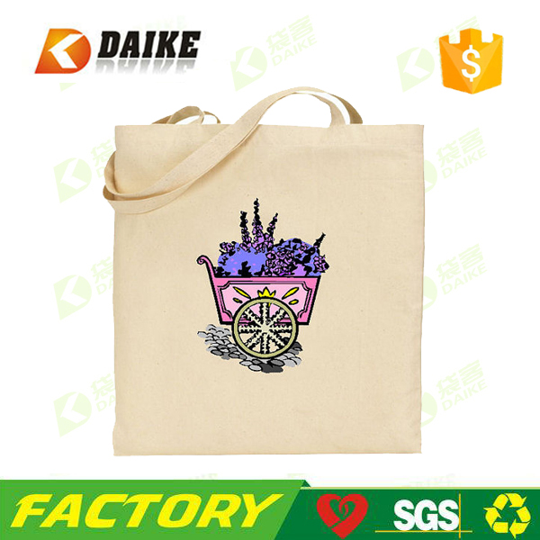 Factory direct canvas recycle pet canvas tote bag for china supplier
