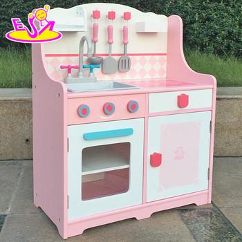Best Design Simulation Kids Wooden Kitchen Toy Set For Pretend W10c174