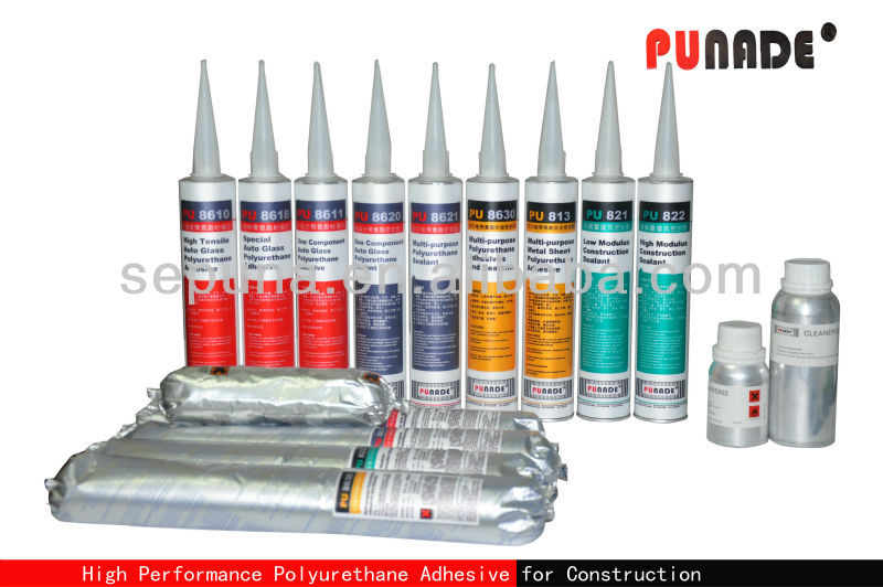 PU824 wood anchor bolts polyurethane/PU adhesive sealant glue